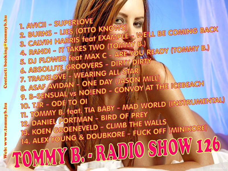 Tommy B. - Radio Show 126 Radio_show_126