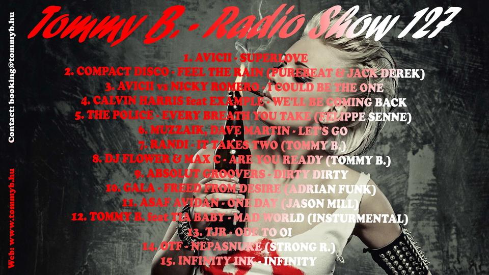Tommy B. - Radio Show 127 Radio_show_127