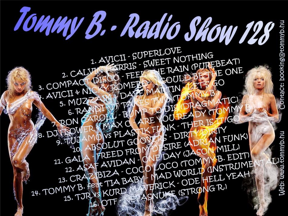 Tommy B. - Radio Show 128 Radio_show_128