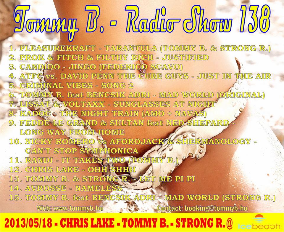 Tommy B. - Radio Show 138 Radio_show_138