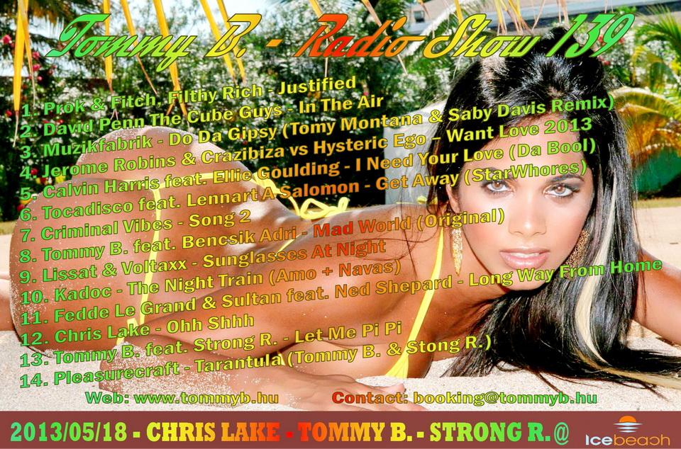Tommy B. - Radio Show 139 Radio_show_139