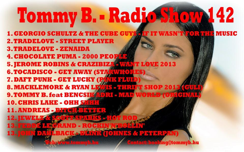 Tommy B. - Radio Show 142 Radio_show_142