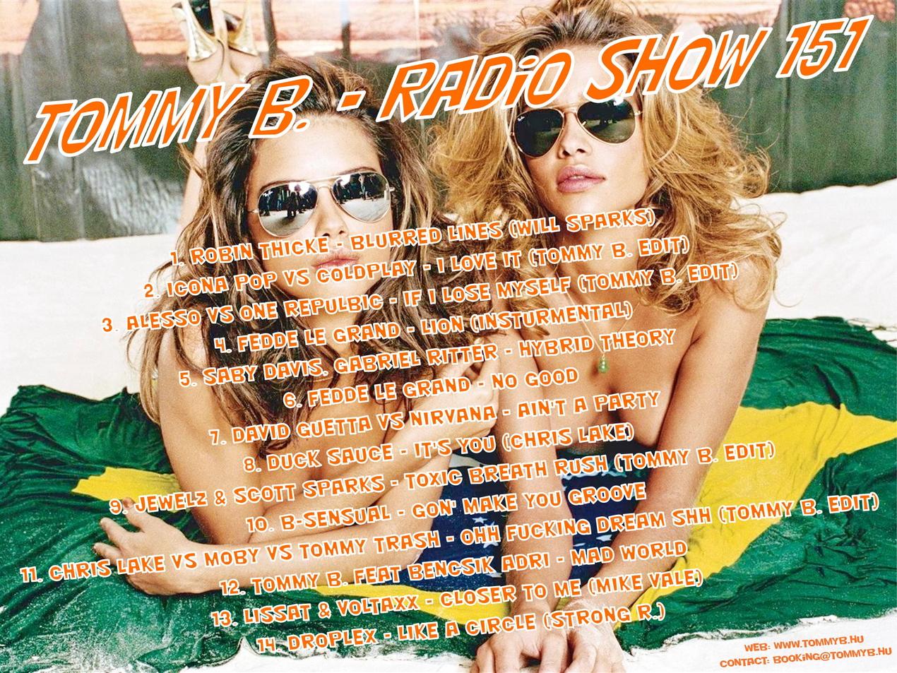 Tommy B. - Radio Show 151 Radio_show_151