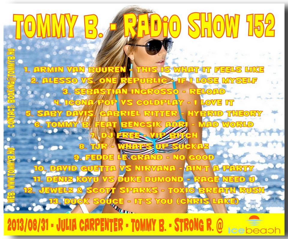 Tommy B. - Radio Show 152 Radio_show_152