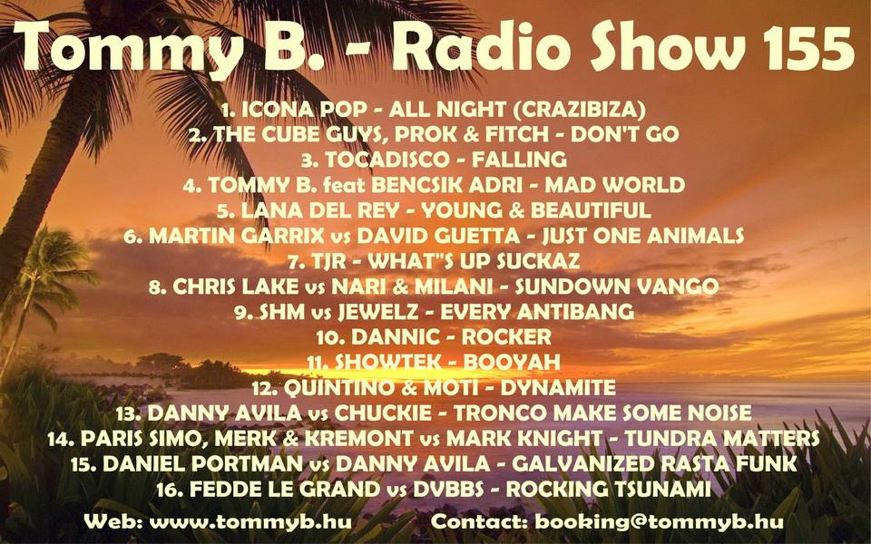 Tommy B. - Radio Show 155 Radio_show_155