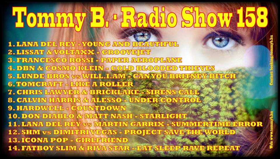 Tommy B. - Radio Show 158 Radio_show_158