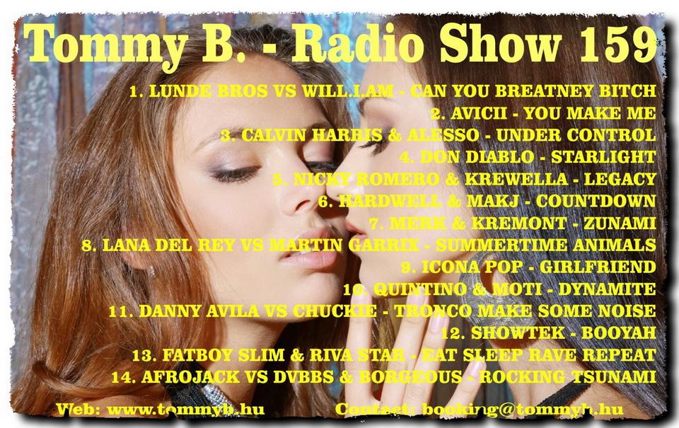 Tommy B. - Radio Show 159 Radio_show_159