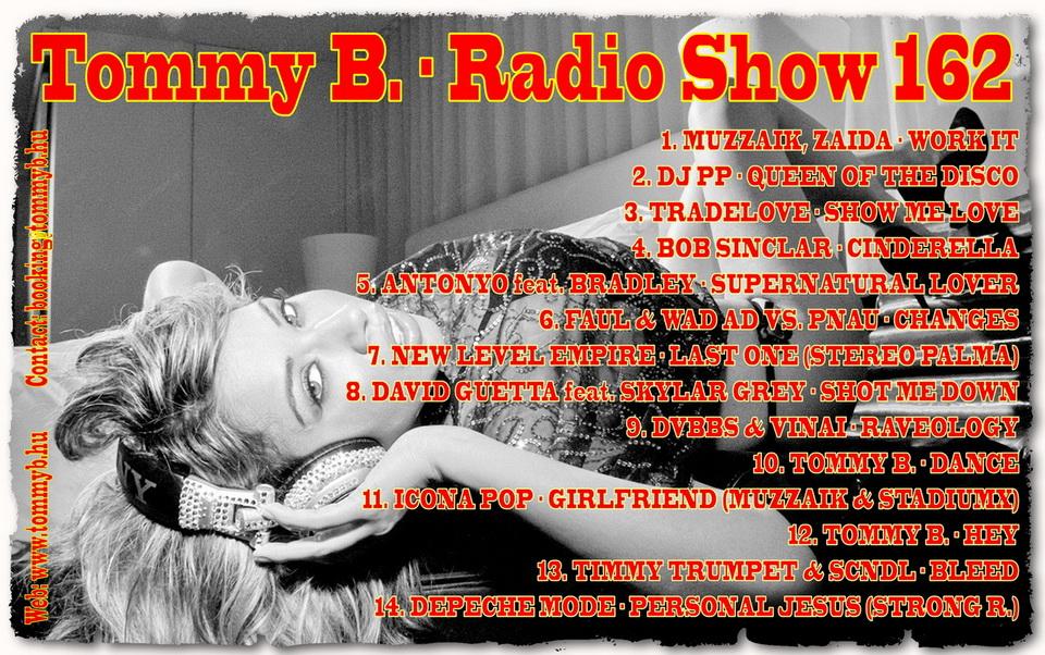 Tommy B. - Radio Show 162 Radio_show_162