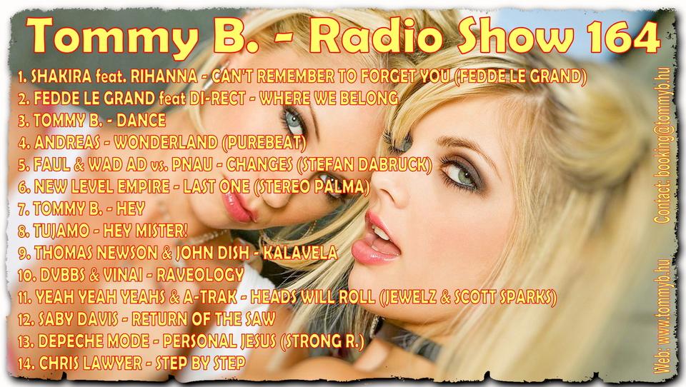 Tommy B. - Radio Show 164 Radio_show_164