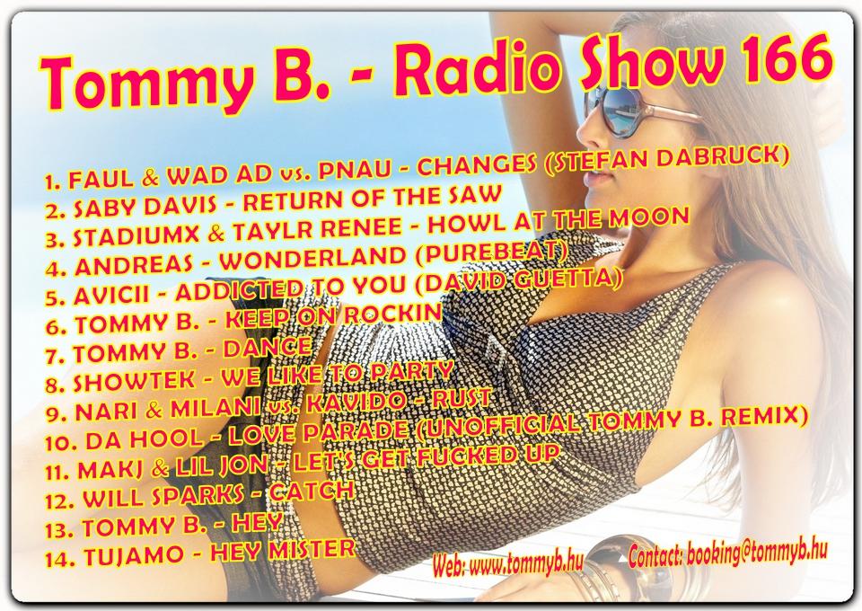 Tommy B. - Radio Show 166 Radio_show_166
