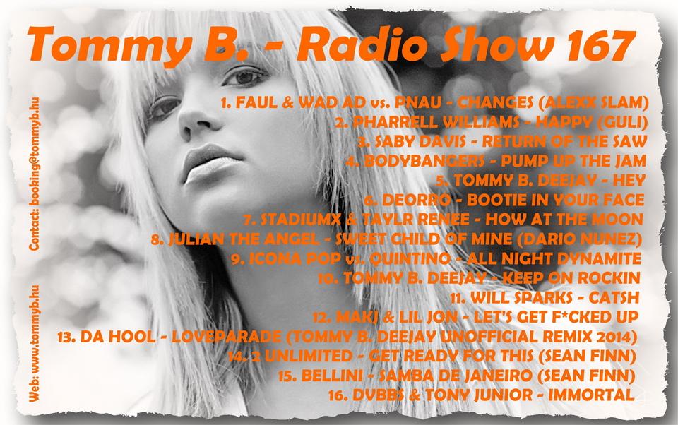 Tommy B. - Radio Show 167 Radio_show_167