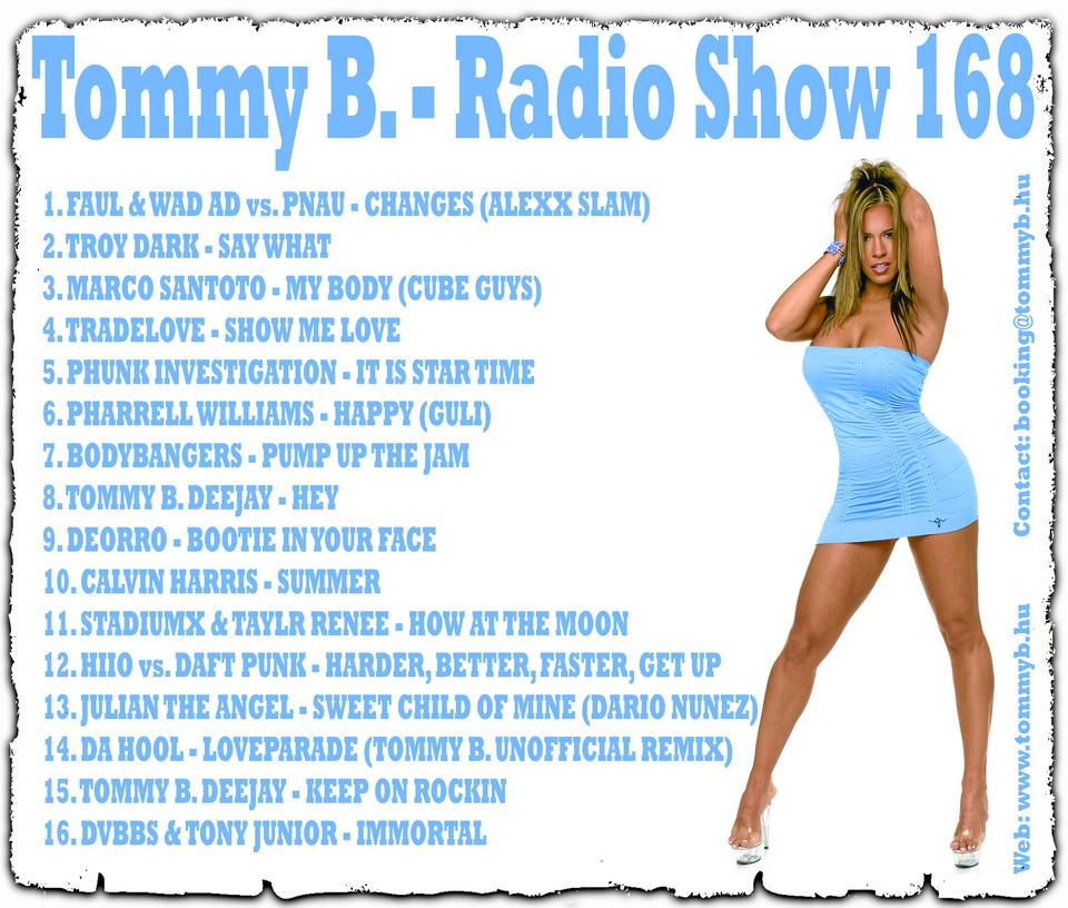 Tommy B. - Radio Show 168 Radio_show_168